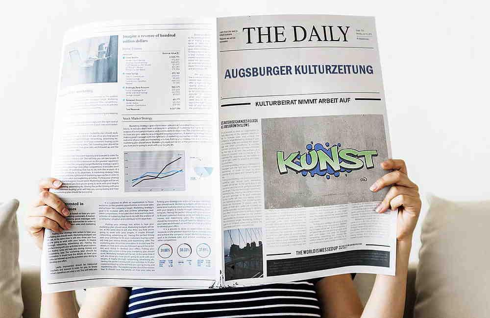 Selbsgestaltete Ausgburger Kulturzeitung